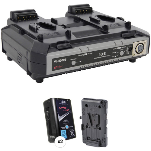 IDX System Technology Endura Cue-D150 V-Mount 2-Battery Kit for Blackmagic URSA
