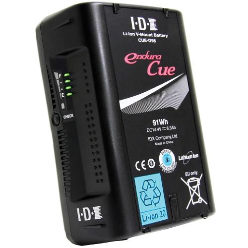 IDX System Technology Endura Cue-D95 V-Mount 2-Battery Kit for AJA CION