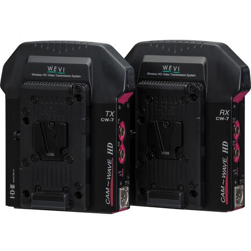IDX System Technology CW-7 V-Mount Uncompressed Wireless HD/SD-SDI Transmission System