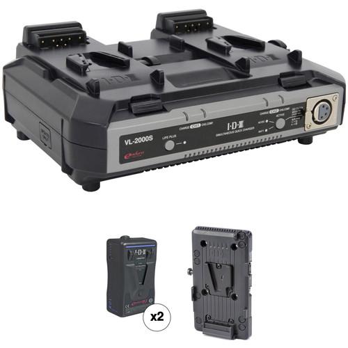 IDX System Technology Endura HL9 V-Mount 2-Battery Kit for Blackmagic URSA