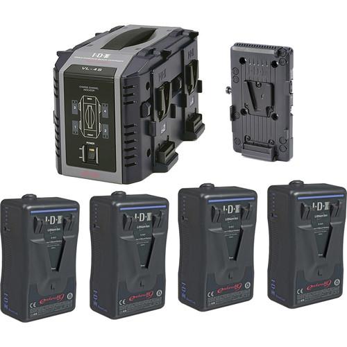 IDX System Technology Endura HL9 V-Mount 4-Battery Kit for Blackmagic URSA