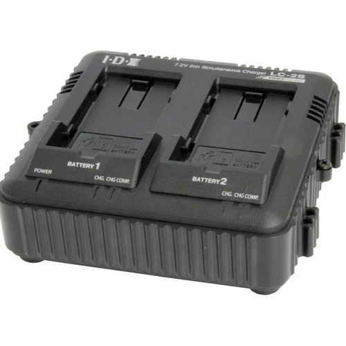 IDX System Technology 2-Channel Simultaneous Charger for Sony L-Series Batteries (7.4V)