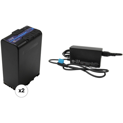 IDX System Technology 2 x 96Wh 14.4V Li-Ion Battery Kit with D-Tap Advanced Battery Charger