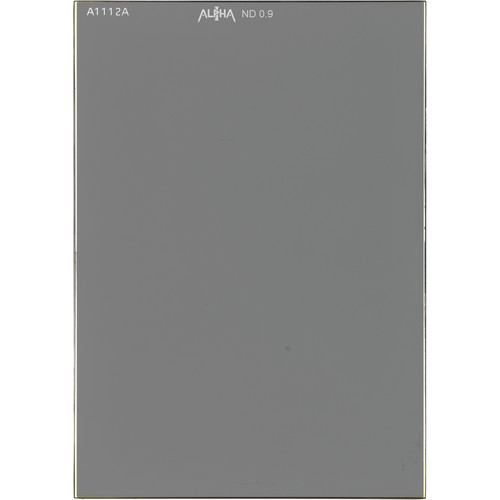 "IDX System Technology 4 x 5.65"" ALPHA-I Solid Neutral Density 0.9 Filter (3-Stop)"