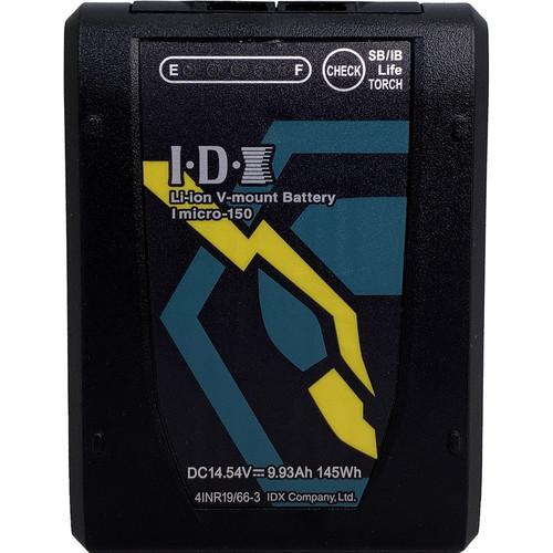 IDX System Technology Imicro-150 14.5V 145Wh Li-Ion V-Mount Battery