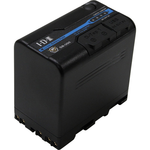 IDX System Technology 14.4V Li-Ion Battery for Sony BP-U Mount Cameras (48Wh)