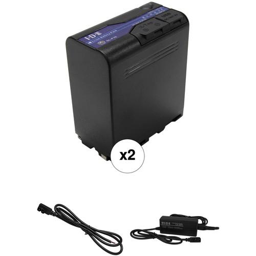 IDX System Technology SL-F70 72Wh L-Series Li-Ion 2-Battery Kit