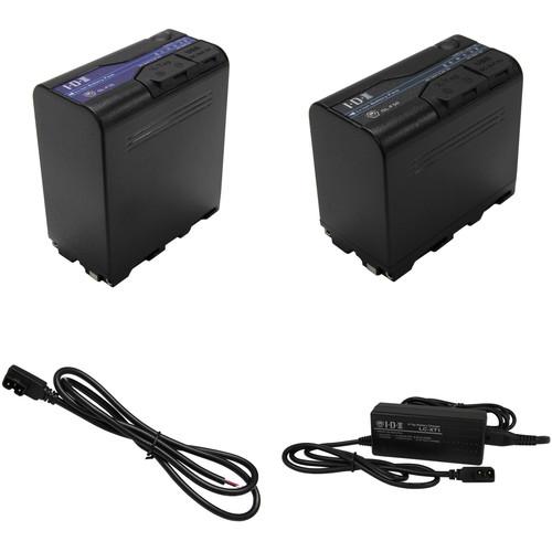 IDX System Technology SL-F70 and SL-F50 L-Series Li-Ion 2-Battery Kit