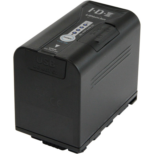 IDX System Technology SL-VBD64 7.2V Li-Ion Battery for Panasonic Cameras