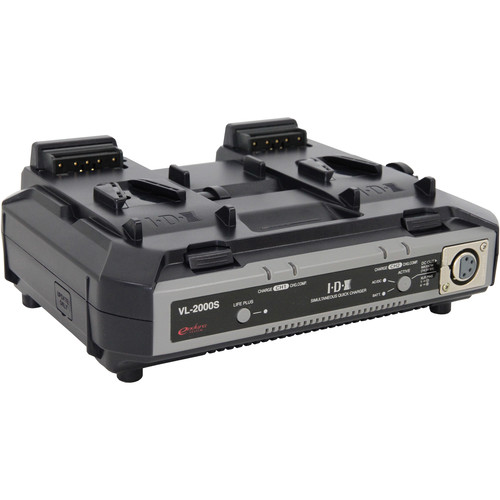 IDX System Technology VL-2000S Simultaneous Quick Charger with 100W DC Output (2-Channel)