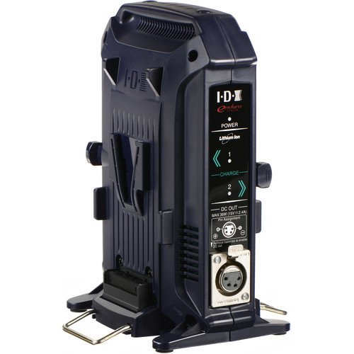 IDX System Technology VL-2X 2-Channel V-Mount Charger & Power Supply