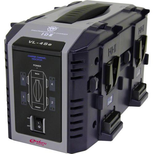IDX System Technology VL-4SE Endura 4-Channel Lithium-Ion Battery Charger (V-Mount)