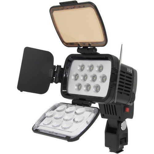 IDX System Technology X10-Lite-S Hi-Performance LED On-Camera Light