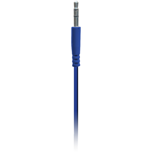iEssentials Tangle-Free 3.5mm to 3.5mm Auxiliary Cable (3.3', Blue)