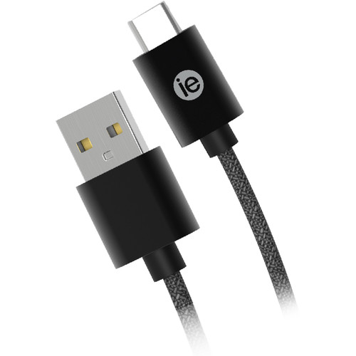 iEssentials Braided USB Type-C Cable (10', Black)