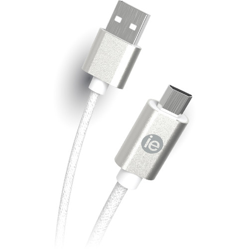 iEssentials Braided Micro-USB Cable (6', Gray)