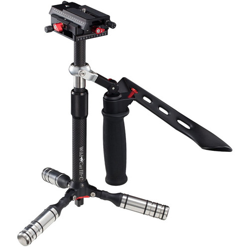 iFootage Wildcat III Manual Stabilizer with Mini Tripod (Carbon Fiber)