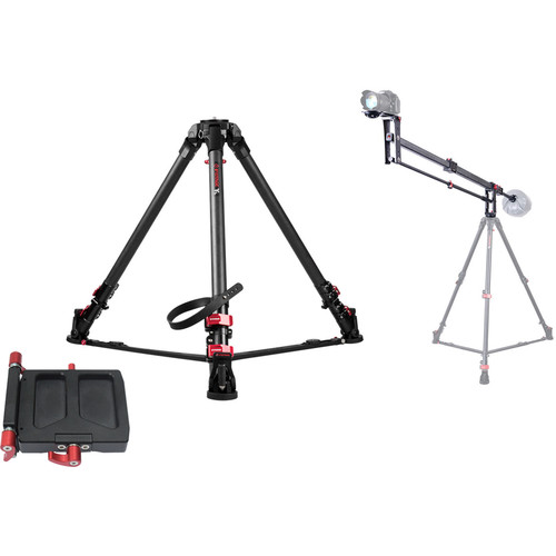 iFootage M1-III Mini Crane with Wild Bull T7 Tripod Kit
