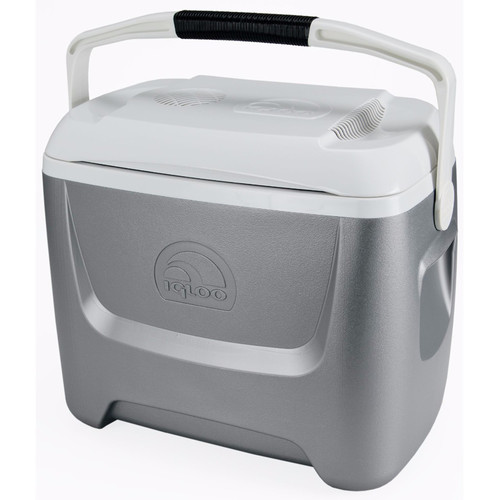 Igloo Iceless 26 Qt. Theroelectric Cooler (Silver/White)