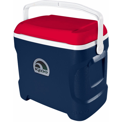 Igloo Contour 30 Quart Patriotic Cooler (Tropical Midnight/Red/White)