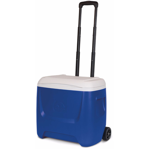 Igloo Island Breeze 28 Qt Roller Cooler (Blue/White)