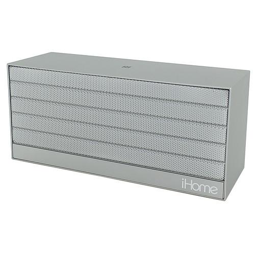 iHome iBN27 Speaker (Silver)