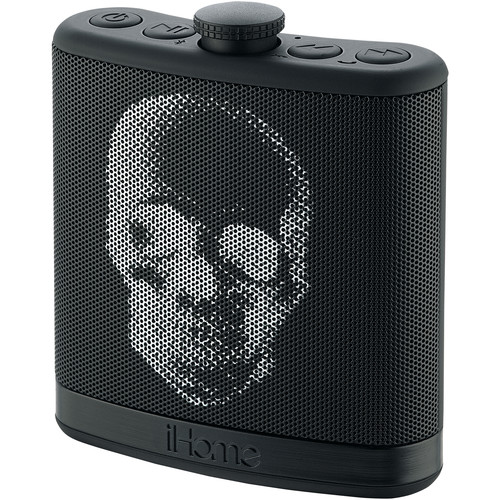 iHome iBT12 SoundFlask Bluetooth Stereo System (Skull)