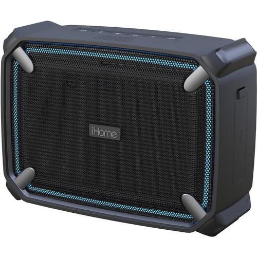 iHome iBT372BG Weather Tough Portable Bluetooth Speaker
