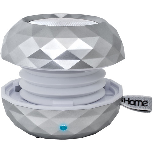 iHome iBT66 GlowTunes Color-Changing Bluetooth Rechargeable Mini Speaker
