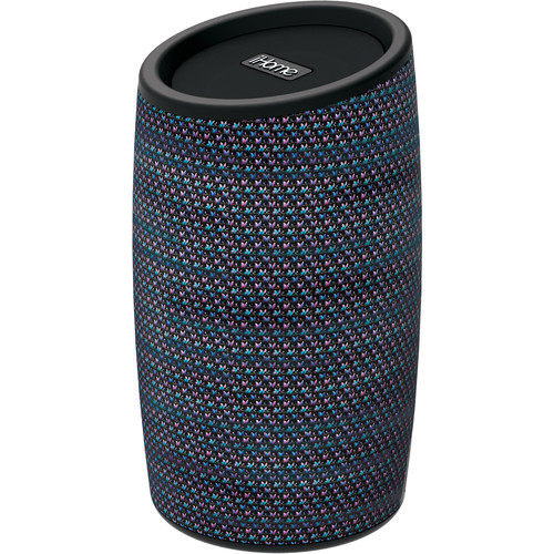 iHome Fabric-Wrapped Bluetooth Rechargeable Speaker