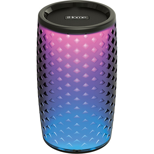 iHome iBT78v2B Color Changing Rechargeable Bluetooth Speaker