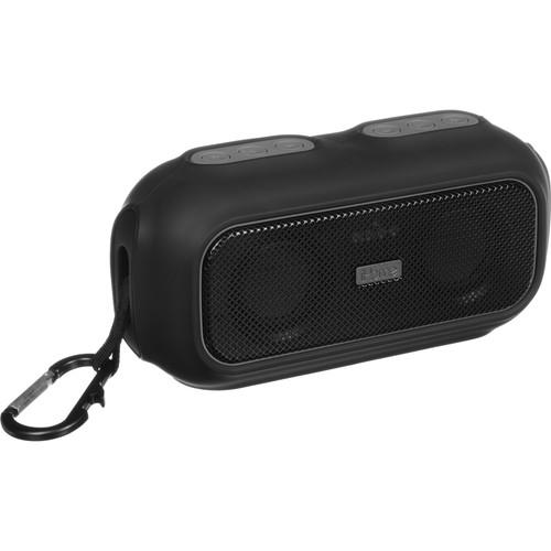 iHome iBT9 Ruggedized Bluetooth Wireless Speaker (Black/Gray)