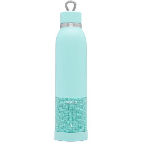 iHome Aquio 16oz Bottle with Bluetooth Waterproof Speaker (Seafoam)