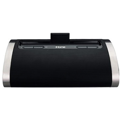 iHome Portable Rechargeable Stereo System for iPad/iPhone/iPod
