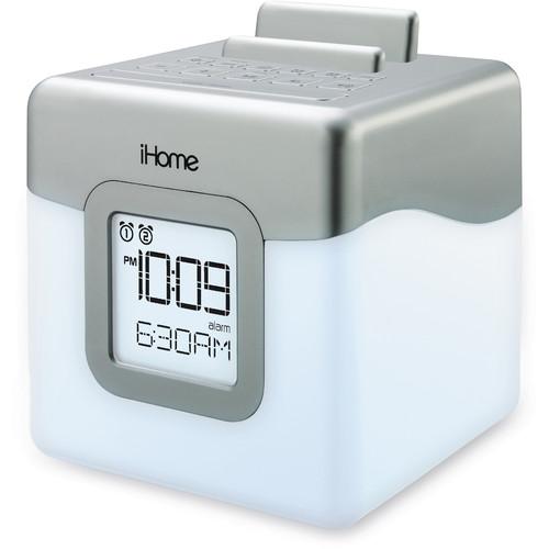iHome LED Dual Alarm FM Radio Speaker System
