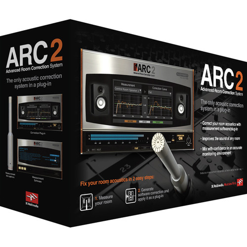 IK Multimedia ARC System 2 Room Correction System (Upgrade, Download)