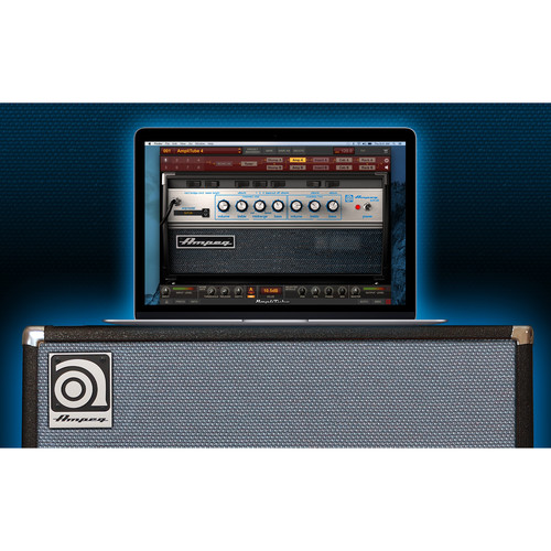 IK Multimedia Ampeg SVX 2 - Collection of Bass Amplifier and Cabinet Emulations for AmpliTube Plug-In (Download)