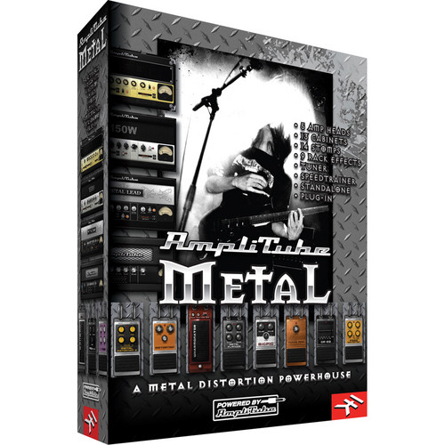 IK Multimedia AmpliTube Metal Software Plug-In Bundle
