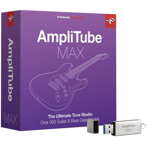IK Multimedia AmpliTube MAX - Total Bundle of Guitar Amplifier and Cabinet Emulation Software (Crossgrade, Boxed)