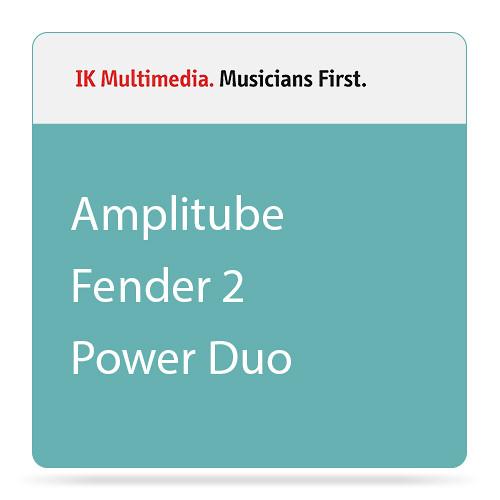 IK Multimedia AmpliTube Fender Collection 2 Power DUO Bundle (Download)