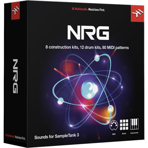 IK Multimedia NRG - SampleTank 3 Sound Library (Download)