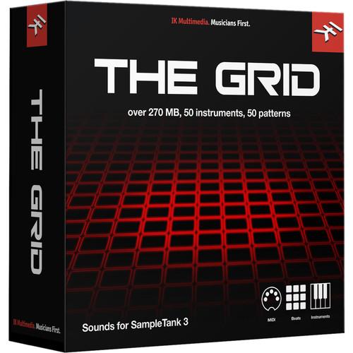 IK Multimedia The Grid - SampleTank 3 Sound Library (Download)