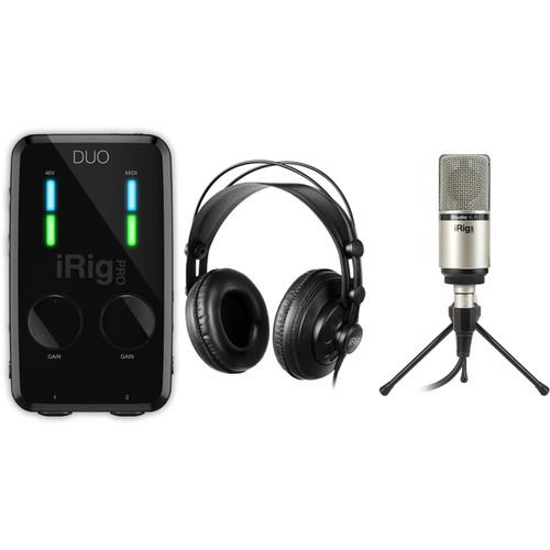 IK Multimedia iRig Pro Duo Studio Suite - Music Production Bundle