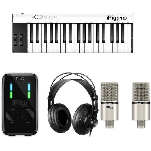 IK Multimedia iRig Pro Duo Studio Suite Deluxe - Music Production Bundle