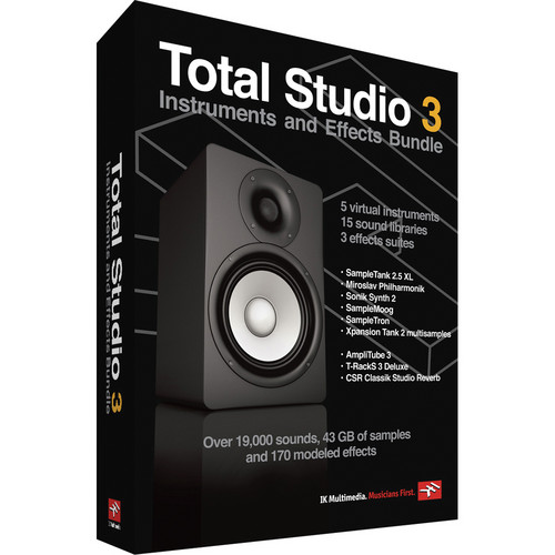 IK Multimedia Download: Total Studio 3