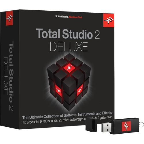 IK Multimedia Total Studio Bundle 2 Deluxe - Software for Audio Production, Mixing & Mastering (Crossgrade, Download)