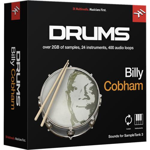 IK Multimedia Billy Cobham Drums - SampleTank 3 Virtual Instrument (Download)