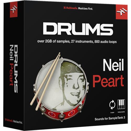 IK Multimedia Neil Peart Drums - SampleTank 3 Virtual Instrument (Download)