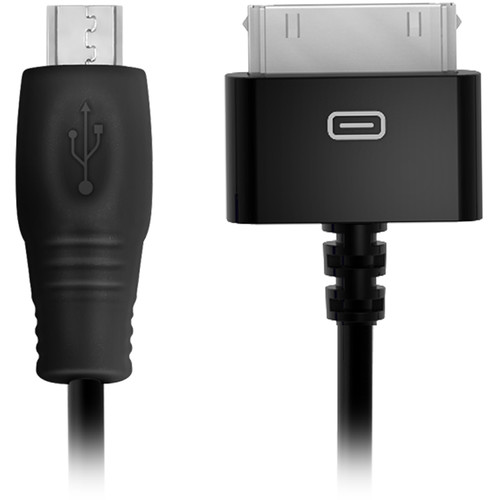 IK Multimedia 30-Pin to Micro USB Cable for iRig Mobile Device to Apple Device with Dock Connector (1.5')