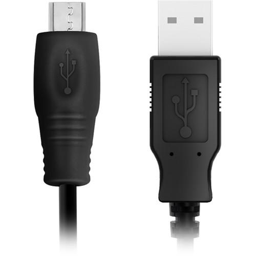 IK Multimedia USB to Micro USB Cable for iRig Mic HD / Studio to Macs & PCs (1.5')